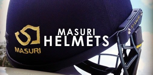 Masuri Cricket - Titanium & Steel Vision Series Helmets & more...