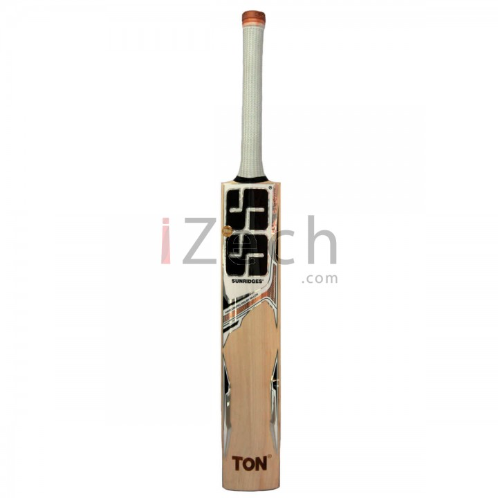 White Edition Gold/Brown English Willow Cricket Bat Size SH