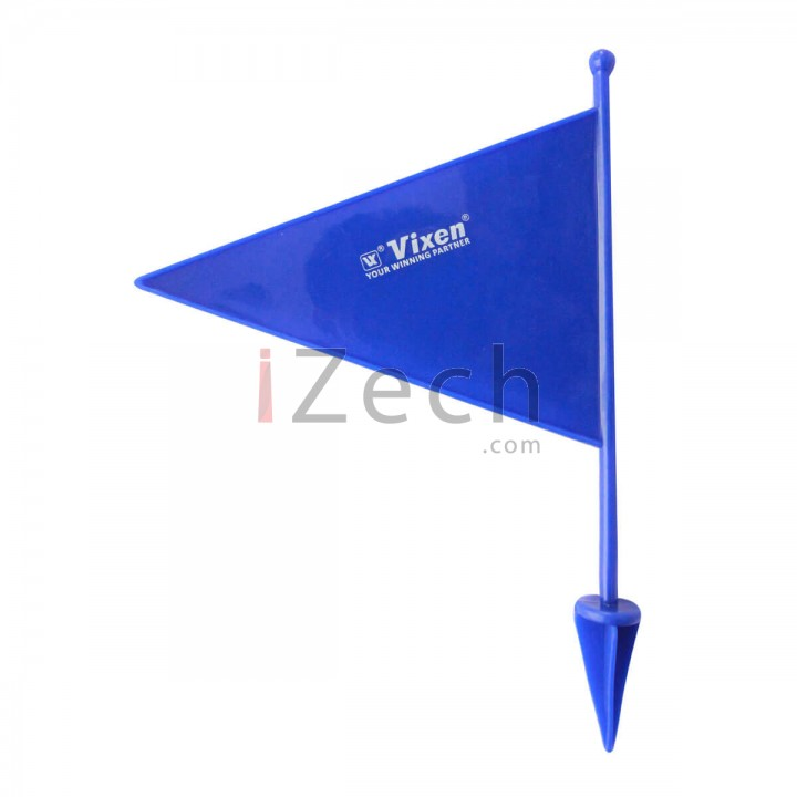 Blue Plastic Boundary Flag
