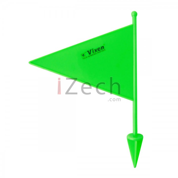 Green Plastic Boundary Flag