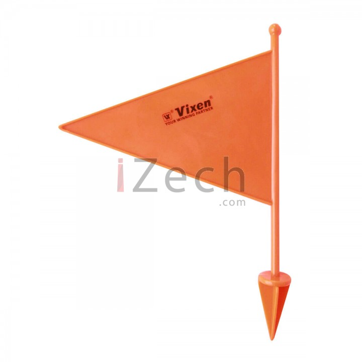 Orange Plastic Boundary Flag