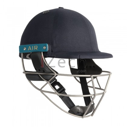 Master Class Air 2.0 Titanium Cricket Helmet - Navy