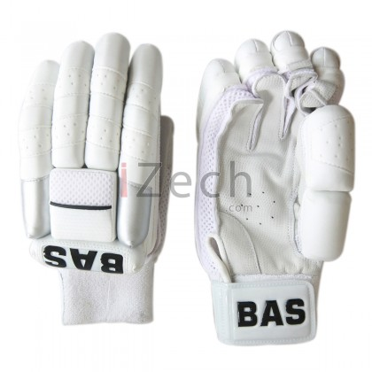 All New White Batting Gloves M RH