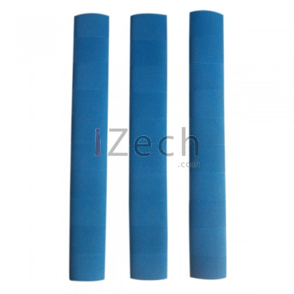 Chevron Cricket Grip Blue (Pack of 3)