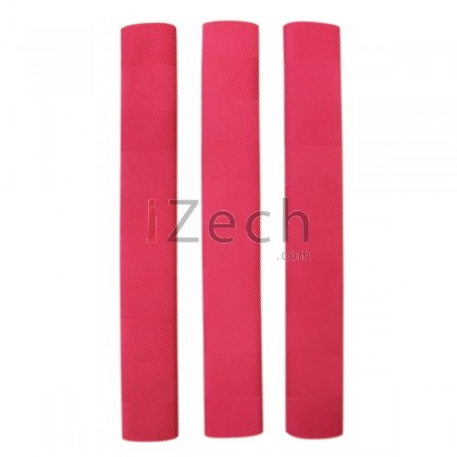 Chevron Cricket Grip Pink (Pack of 3)