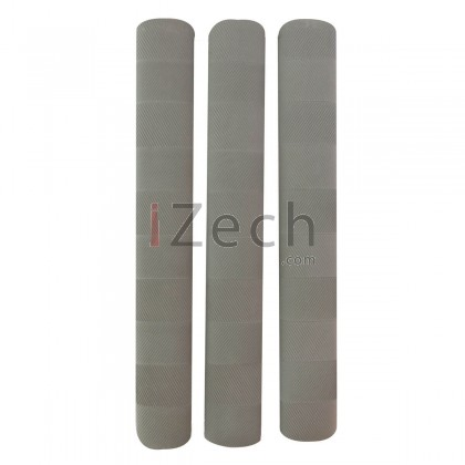 Chevron Cricket Grip Grey (Pack of 3)
