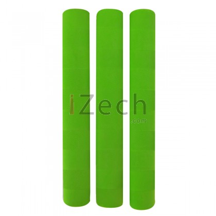 Chevron Cricket Grip Green (Pack of 3)
