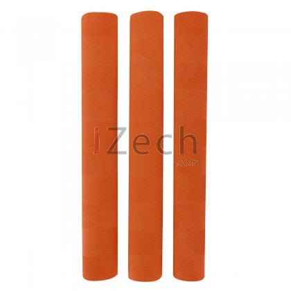 Chevron Cricket Grip Orange (Pack of 3)