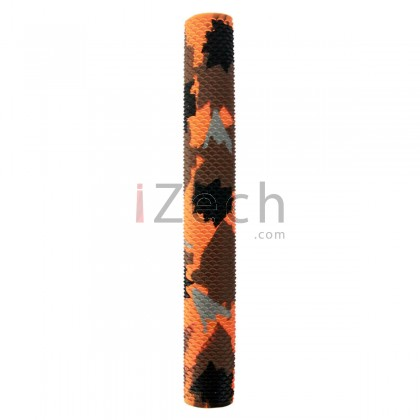 Camo Orange Cricket Grip