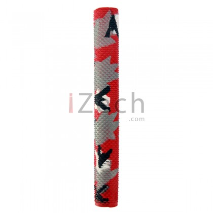 Camo Red Cricket Grip