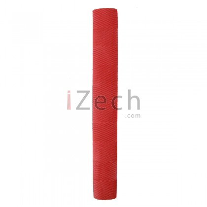 Chevron Red Cricket Bat Grip