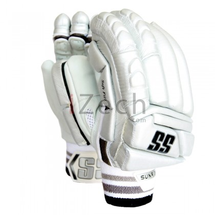 Silver Super Test Batting Gloves Youth Size