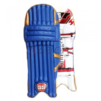 Test Opener Batting Pads Blue Mumbai Indian Color Men Size