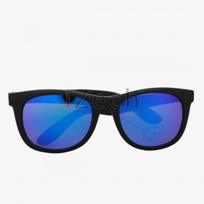 Classy Blue With Black Frame Sunglasses