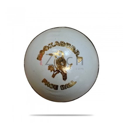 Pace Cricket Ball - White