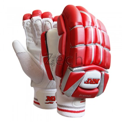 Genius LE Red Batting Gloves Mens Size