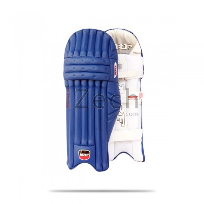 Blue Genius Grand JR Cricket Batting Pads Youth Size