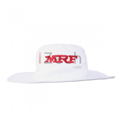 Panama White Cricket Hat