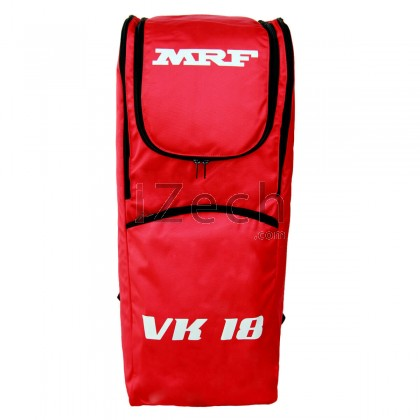 VK18 Red Backpack Shoulder Cricket Kit Bag