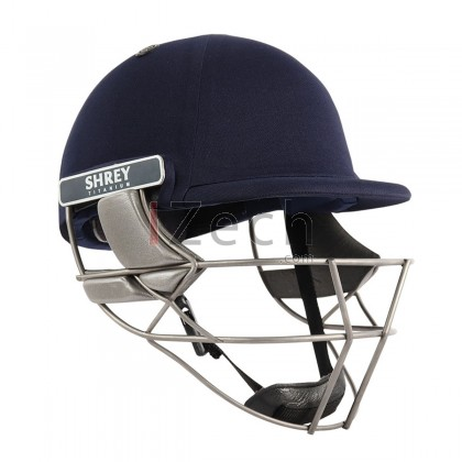 Pro Guard Air Titanium Cricket Helmet - Navy