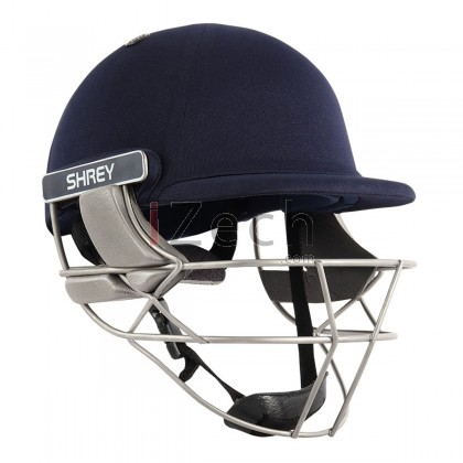Pro Guard Air Stainless Steel Cricket Helmet - Navy