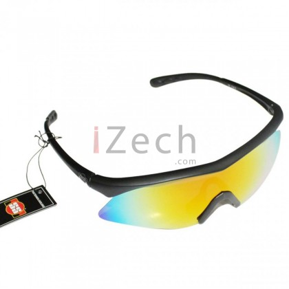 Prime Rainbow with Black Frame Sunglasses