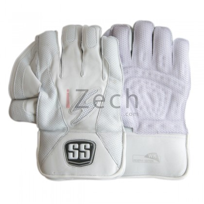 Reserve Edition White Wicket Keeping Gloves Mens Size