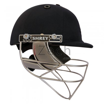 Master Class Stainless Steel Cricket Helmet - Navy