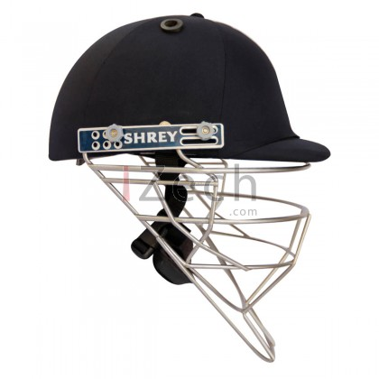 Pro Guard Stainless Steel Fielding Helmet - Navy