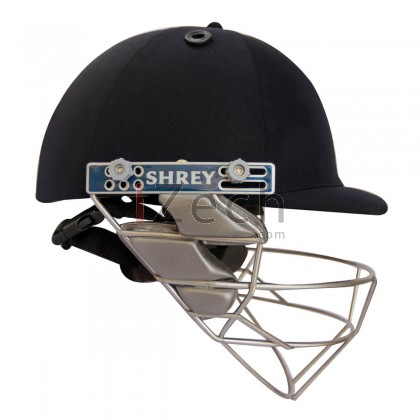 Pro Guard Stainless Steel Cricket Helmet - Navy