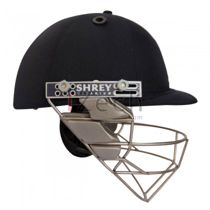 Pro Guard Titanium Cricket Helmet - Navy