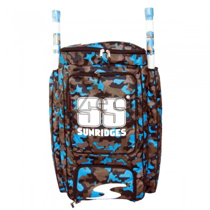 Blue Camo Duffle Kit Bag