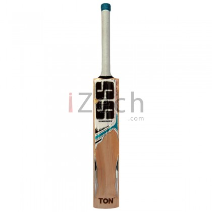White Edition Blue English Willow Cricket Bat Size SH