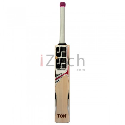 White Edition Pink English Willow Cricket Bat Size SH