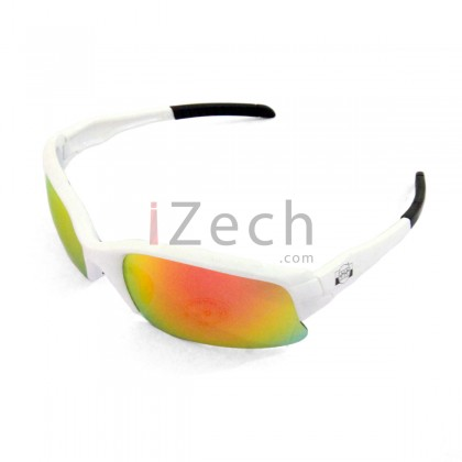 Professional with White frame Sunglasses