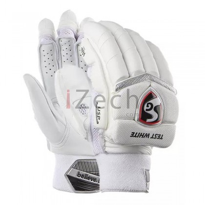 SG Test White Batting Gloves M RH