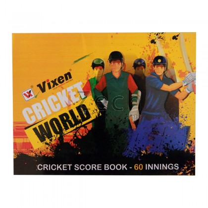Cricket Score Book (60 Innings)
