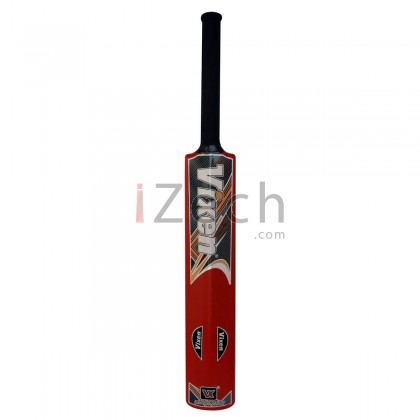 VX 444 Red Plastic Cricket Bat Size 6